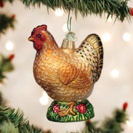 Spring Chicken Ornament