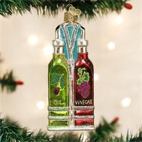 Oil & Vinegar Cruets Ornament