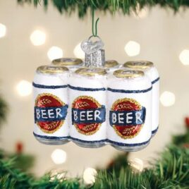 Six Pack Of Beer Ornament