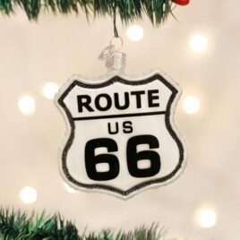 Historic Route Sign Ornament