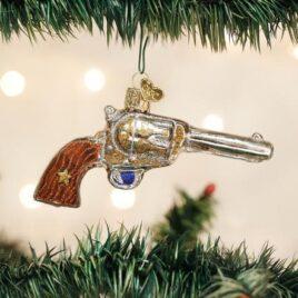 Western Revolver Ornament