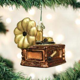Phonograph Ornament