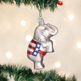 Republican Elephant Ornament