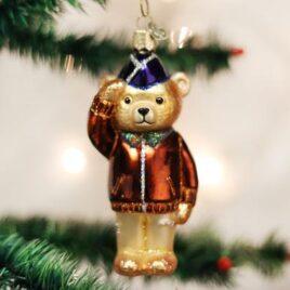 Air Force Bear Ornament