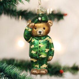Army Bear Ornament