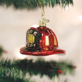 Fireman's Helmet Ornament