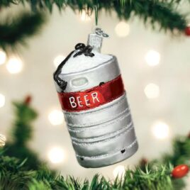 Aluminum Beer Keg Ornament