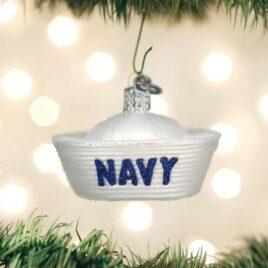 Navy Cap Ornament