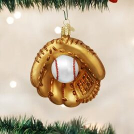 Baseball Mitt Ornament
