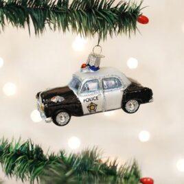 Police Car Ornament